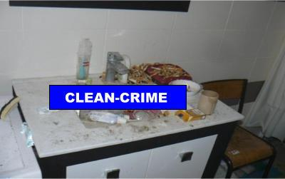 l 39 encombrement en affaire propre ou sale on range tout clean crime. Black Bedroom Furniture Sets. Home Design Ideas